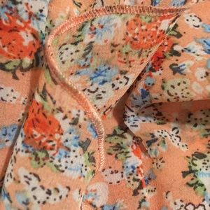 SB Dresses - Floral Ruffled Dress